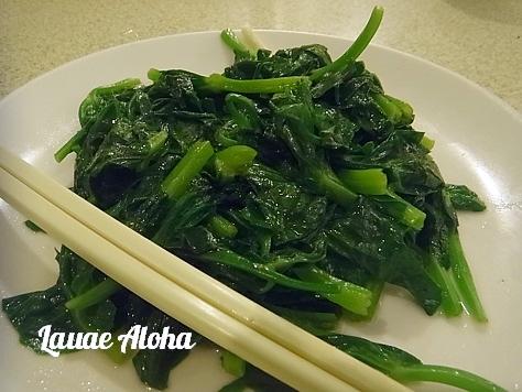 青菜炒め物