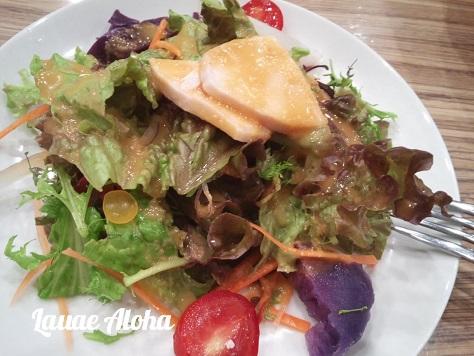 10種の野菜とゆで鶏の彩りサラダ