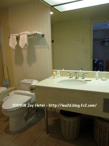 2009年8月 Joy Hotel(ジョイホテル) - Junior Suite(ジュニアスイート)