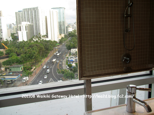 2011年8月 Waikiki Gateway Hotel (ワイキキゲートウェイ ホテル) - Penthouse Suites Feature(ペントハウスオーシャンビュー、チネット付き)