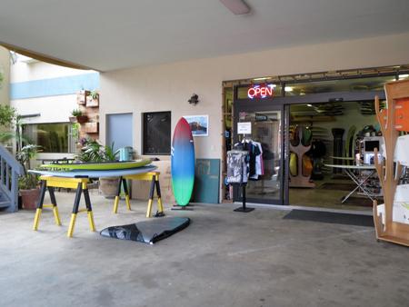 201405 ハワイでスタンドアップパドル(SUP)のボードを買う その