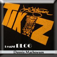 Dennis Mathewson(デニス・マシューソン)さん、デザインの絵&グッズ&T シャツ Pacific Harley Davidson(ハーレー・ダビッドソン)