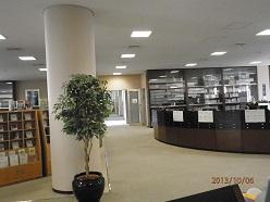 筑女大8号館図書館