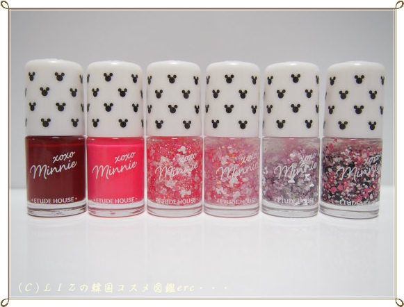 【ETUDE HOUSE】XOXO Minnieネイルズ