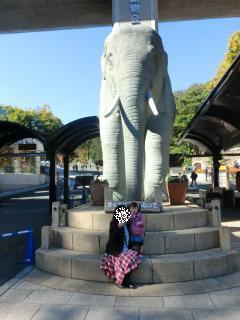 2回目の多摩動物園入口