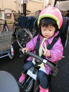 プレ幼稚園23回目 久しぶりの自転車
