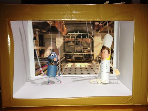 レミーとリングイニの操り人形