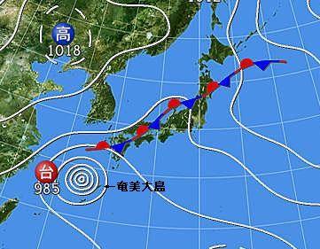9月3日天気図
