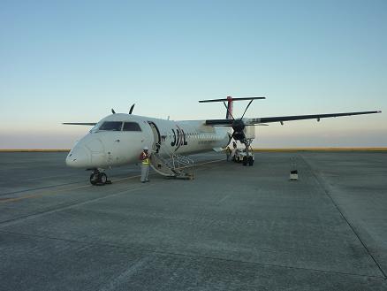鹿児島への飛行機