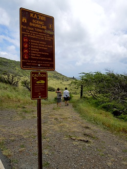 Kaiwi Shoreline Trail
