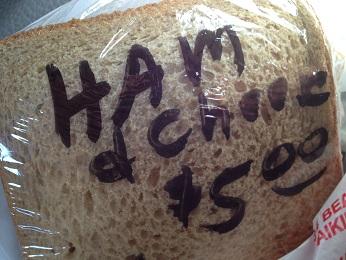 Takahashi HamCheese Sandwiches
