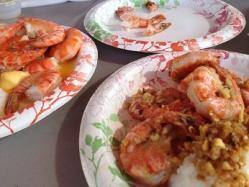 Giovannis Garlic Shrimp