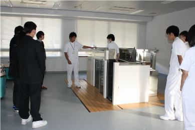 【理学療法士科】水治療室の見学