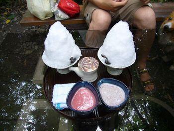 かき氷 長瀞2009