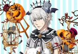 かぼちゃが刺さった(笑)