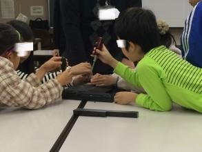 子供によるノートパソコン解体体験