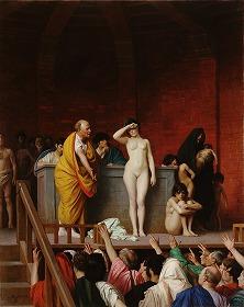 Slave Market in Rome - Jean-Leon Gerome