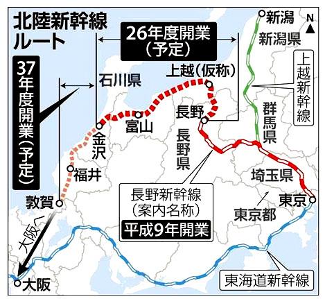 金沢新幹線