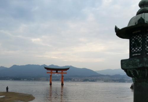 厳島神社大鳥居5