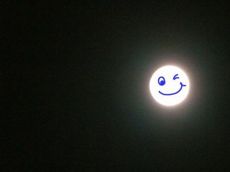 十四夜の月