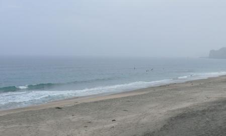 サーフポイントの部原海岸