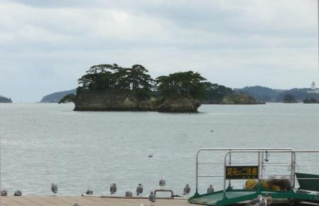 穏かな日本三景松島