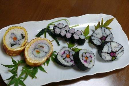 飾寿司5種