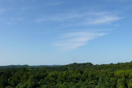 君津方面の景色