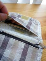 ミニ財布 内側2