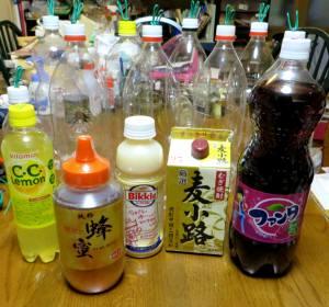 2013_10 06_suzumebachi-trap tsukuri 1