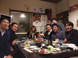 株式会社Q-be5周年食事会