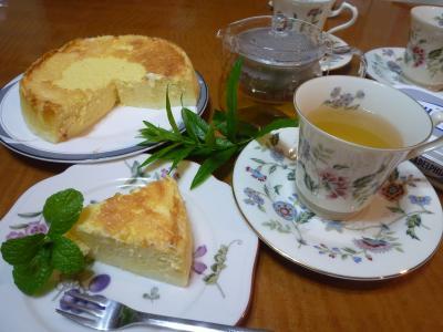 俊の手作りチーズケーキ