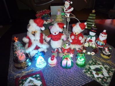 編みねこサンタのクリスマス*