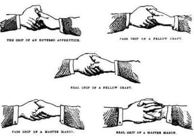 mason handshakes