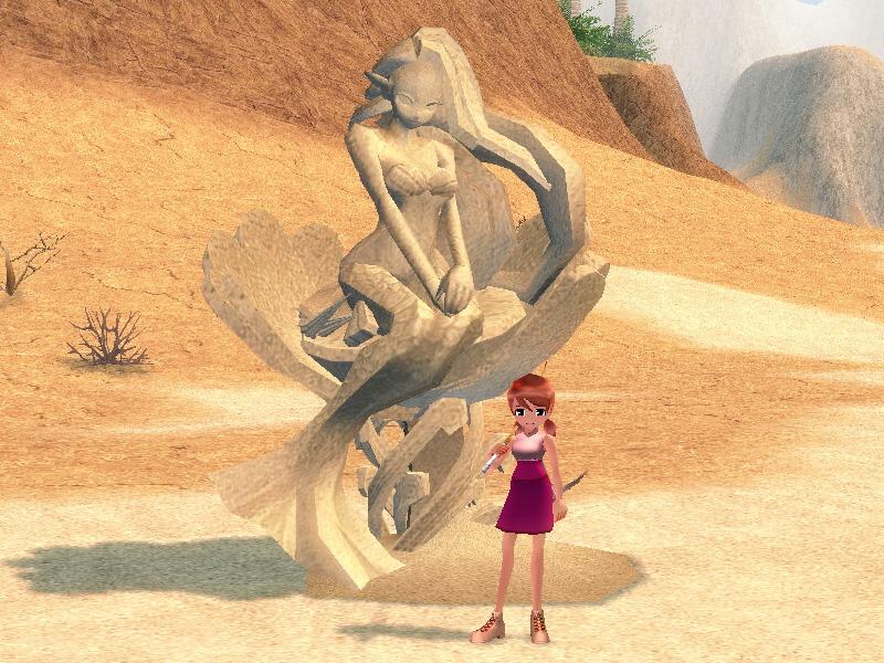 アルケナルの砂人形