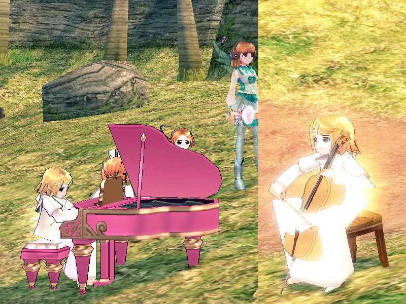 ピアノとチェロ