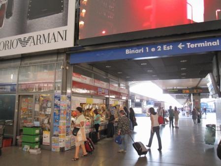 ローマ テルミニ駅