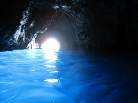 カプリ島青の洞窟2