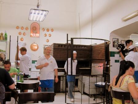 ダミケーレのピザ窯