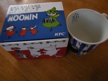 KFCとムーミンコラボ1