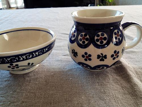 花柄 陶器