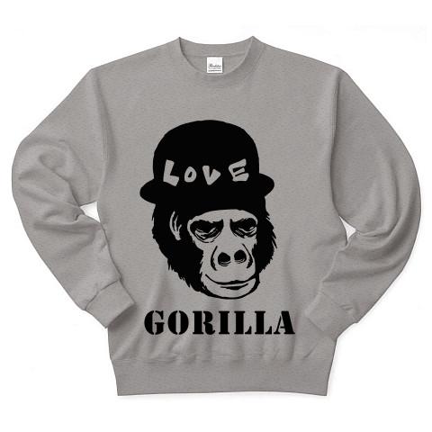 Gorilla_トレーナー(グレイ)
