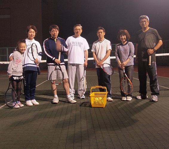 テニス部再活動開始