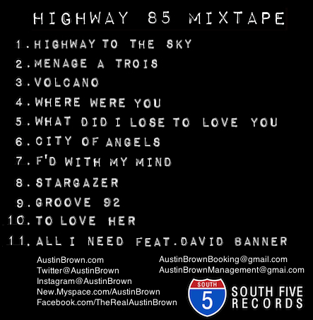 Highway 85 Back Cover