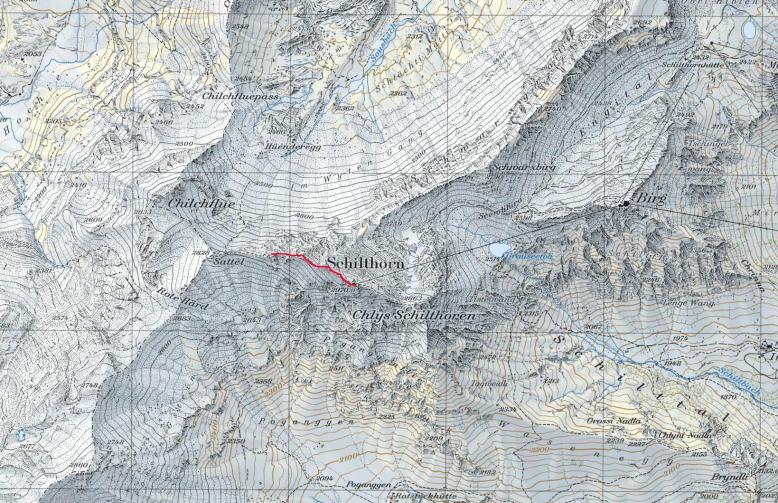 GPSトラック Shilthorn