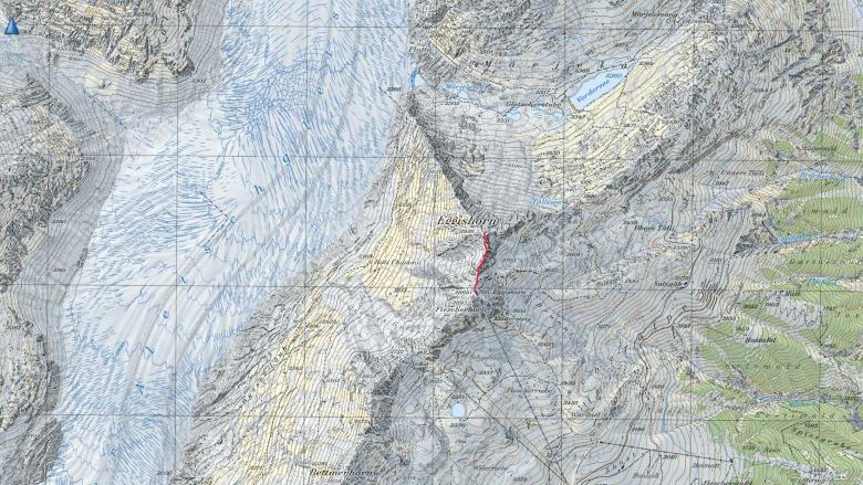 GPSトラック Eggishorn