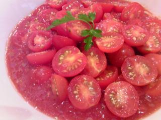 冷製イタリア麵赤