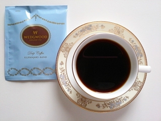 ウェッジウッド ドリップコーヒー キリマンジャロブレンド5袋b