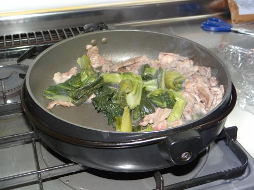 高菜を入れる