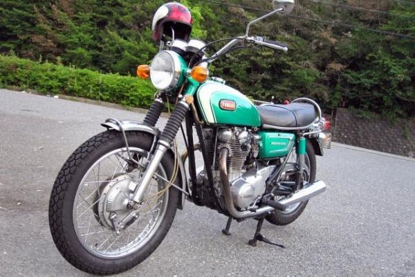 YAMAHA XS1B 1971